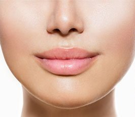 woman after getting botox treatment in Cheshire